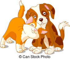 Cat & Dog clipart #9, Download drawings