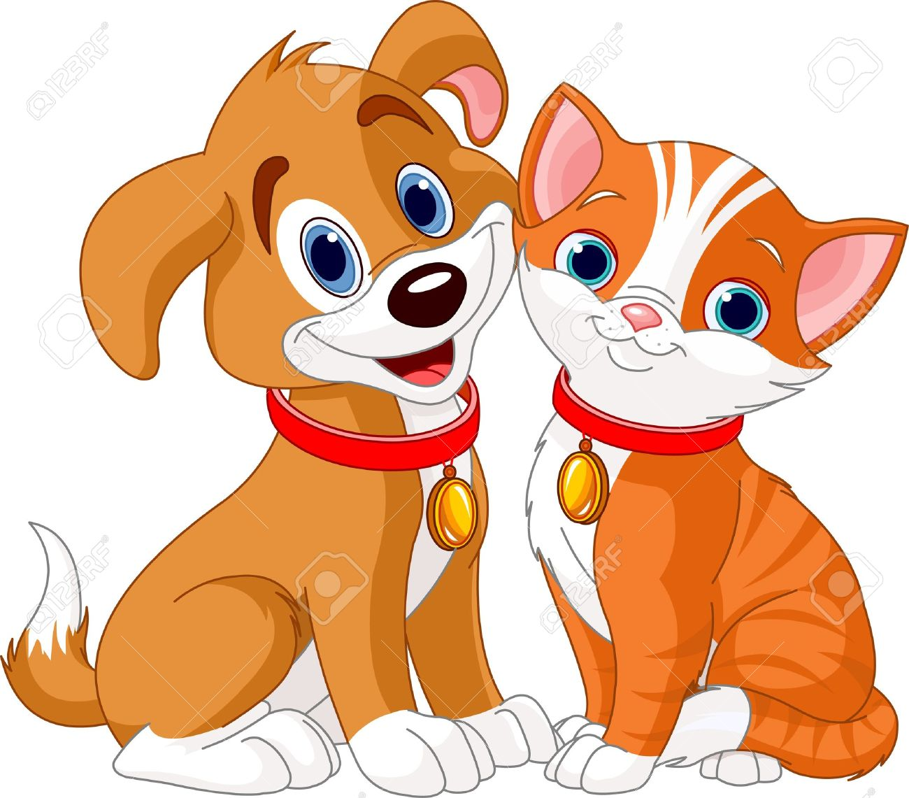 Cat & Dog clipart #19, Download drawings