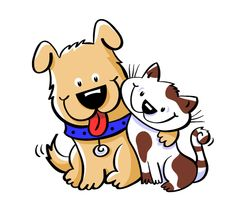 Cat & Dog clipart #13, Download drawings