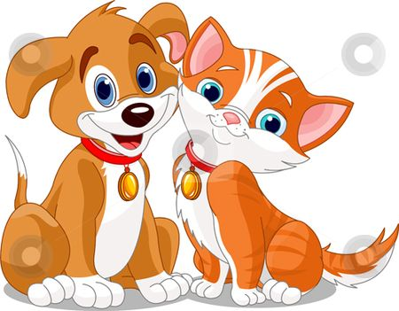 Cat & Dog clipart #16, Download drawings