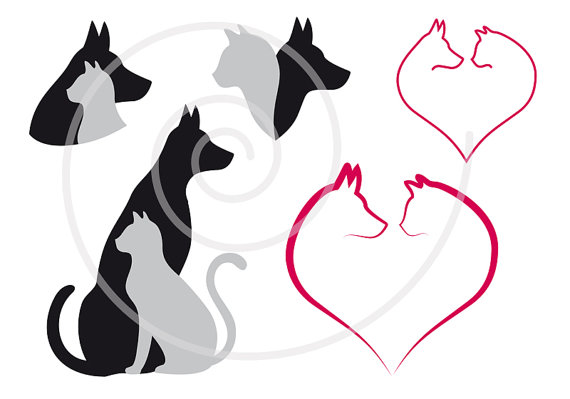 Cat & Dog svg #5, Download drawings