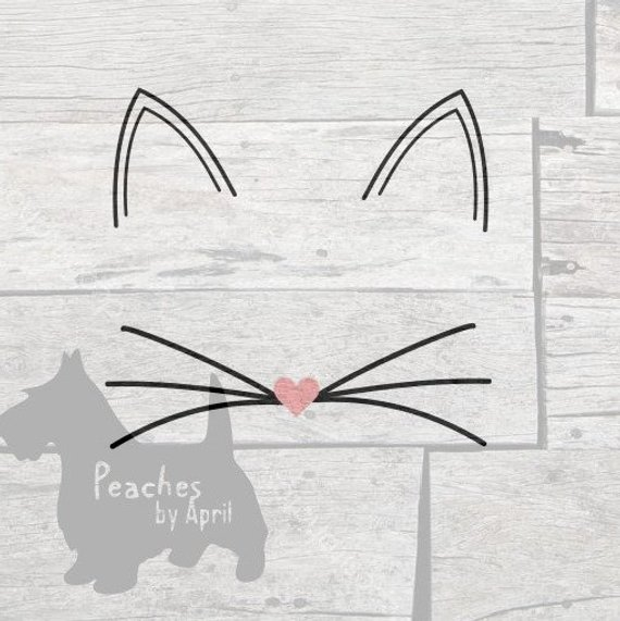 cat ears svg #570, Download drawings