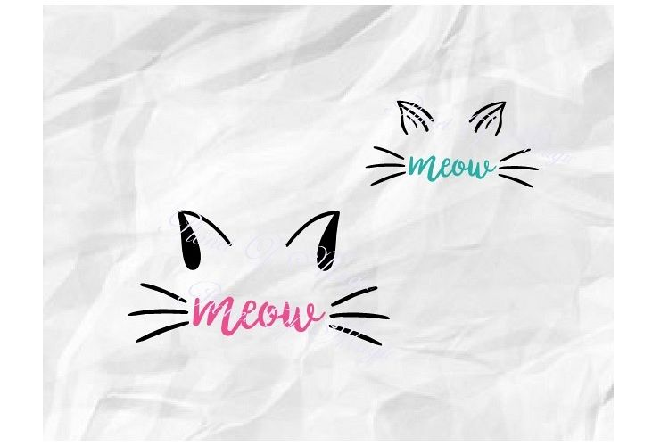 cat ears svg #560, Download drawings