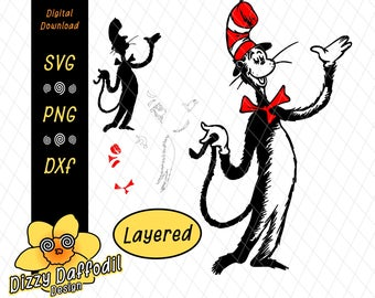 cat in the hat svg #12, Download drawings