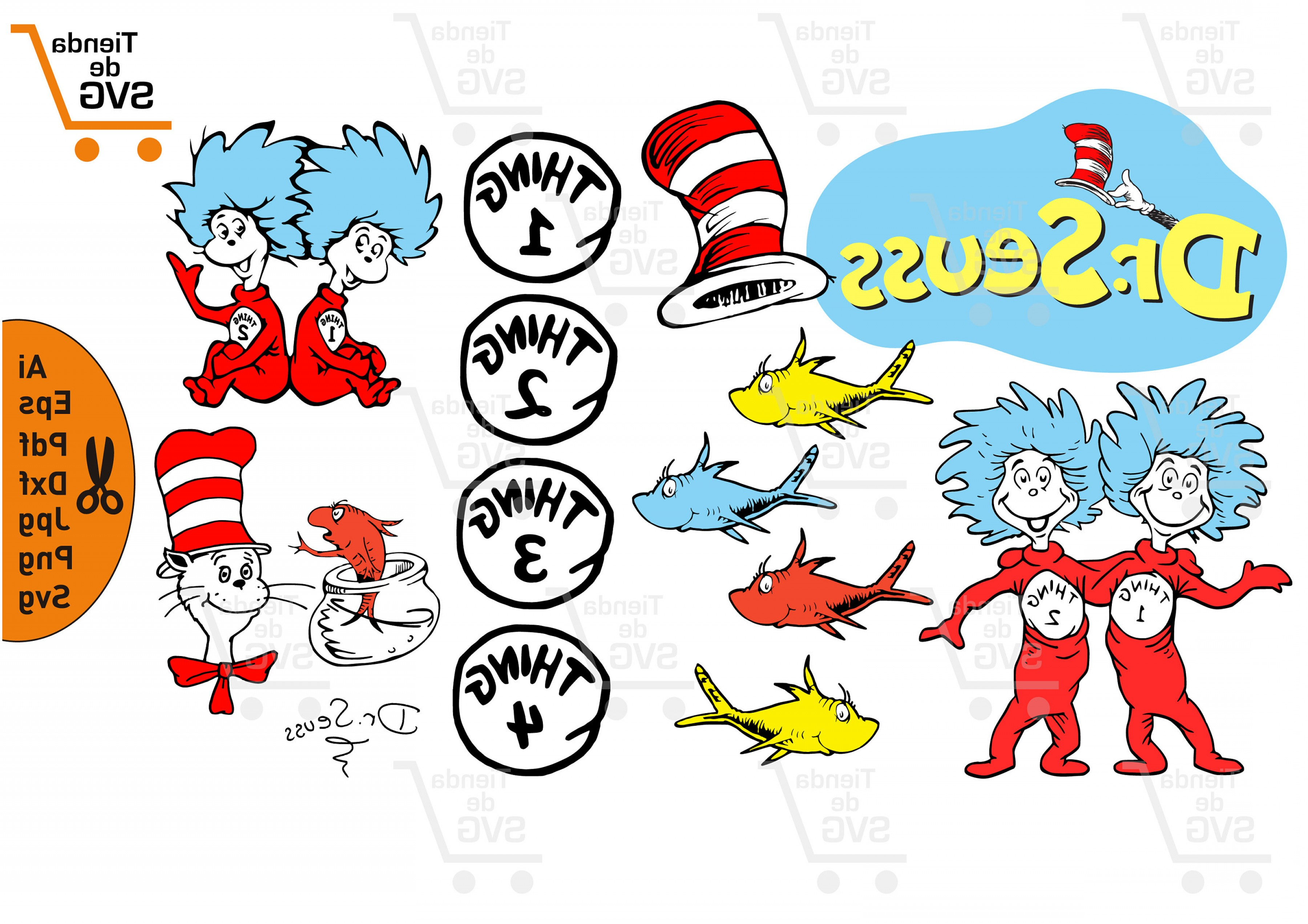 cat in the hat svg #2, Download drawings