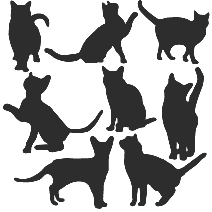 cat svg free #1, Download drawings