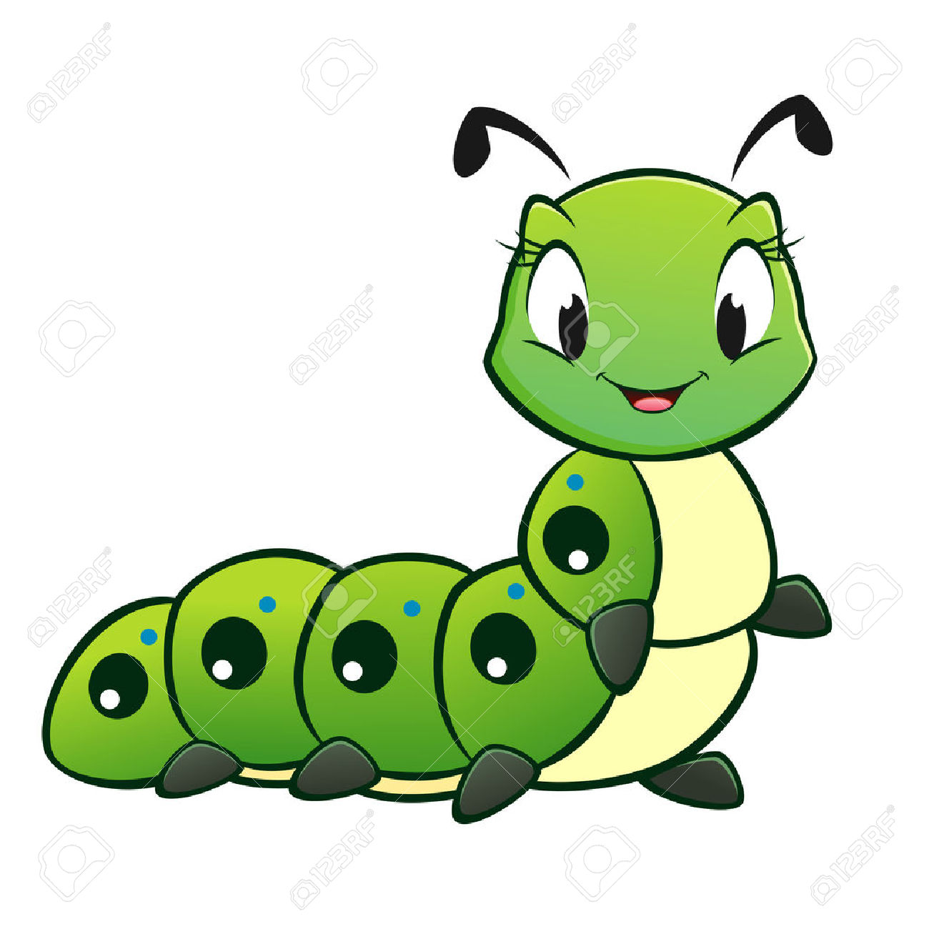 Caterpillar clipart #8, Download drawings