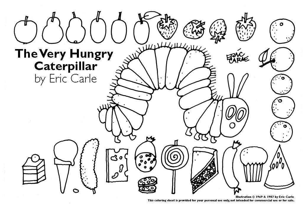 Caterpillar coloring #6, Download drawings