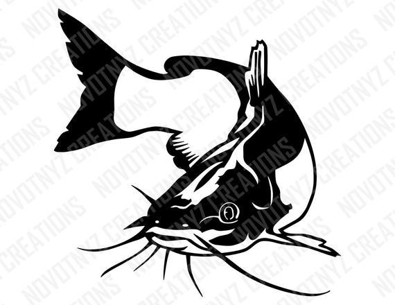 catfish svg #1077, Download drawings