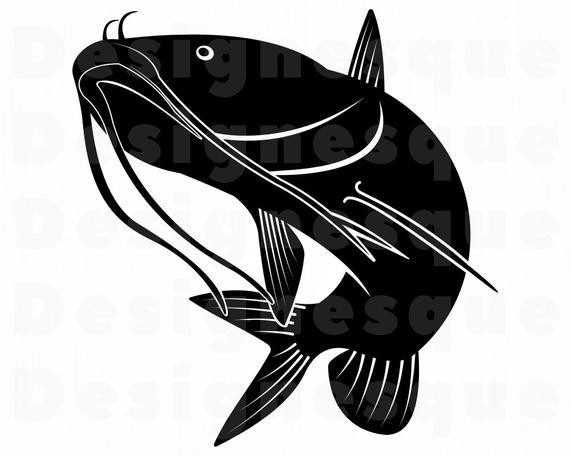 catfish svg #1074, Download drawings
