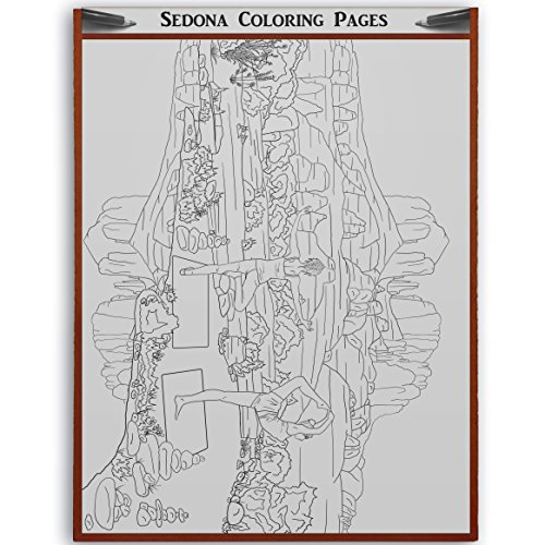 Cathedral Rock coloring #4, Download drawings