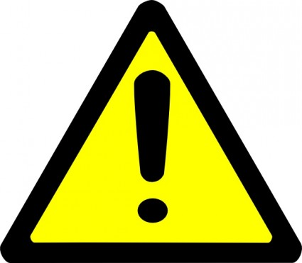 Caution clipart #20, Download drawings