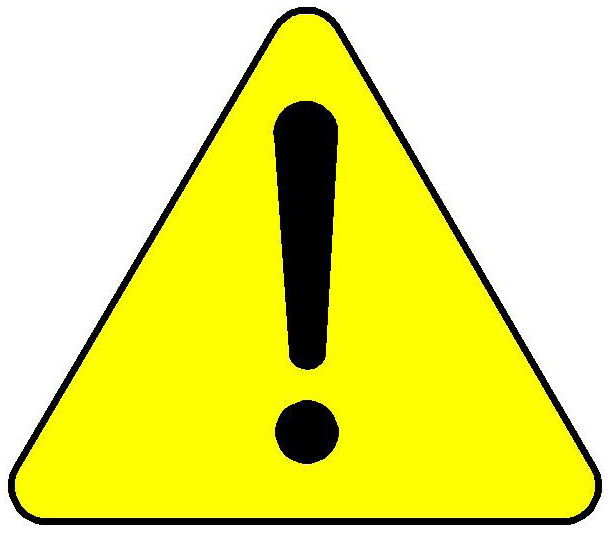 Caution clipart #5, Download drawings