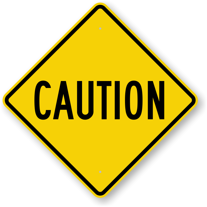 Caution clipart #2, Download drawings
