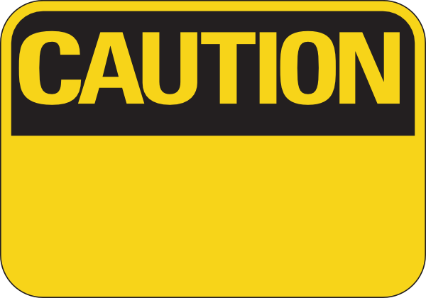 Caution clipart #8, Download drawings