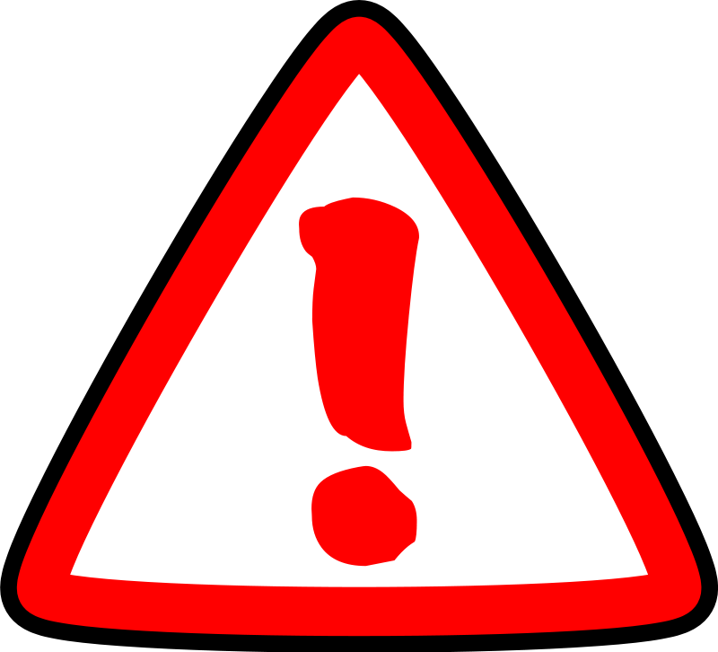 Caution clipart #16, Download drawings