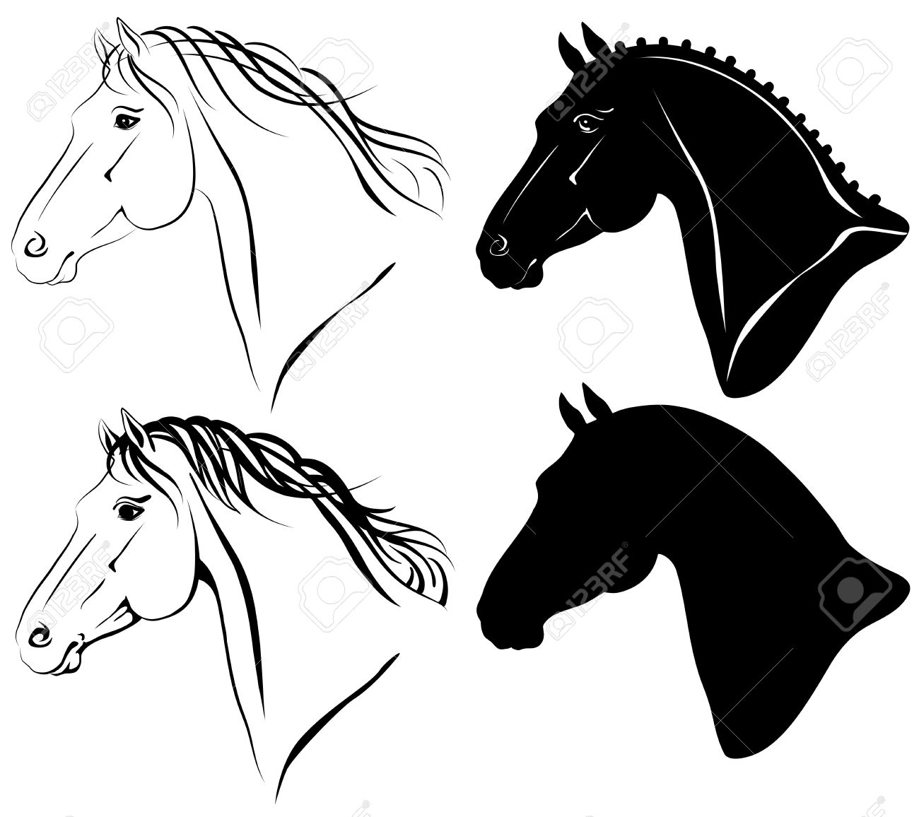 Cavallo clipart #5, Download drawings