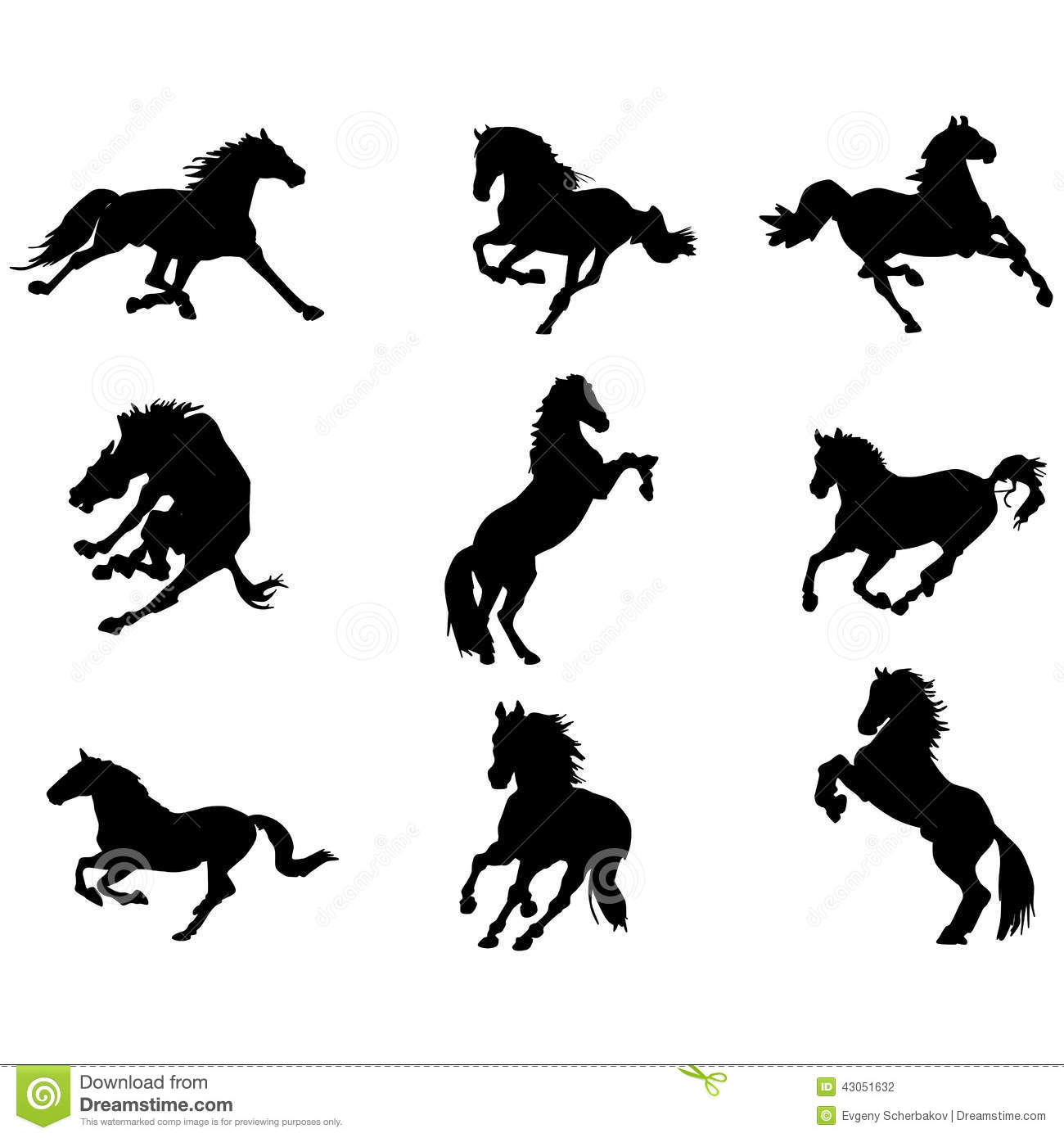 Cavallo clipart #2, Download drawings