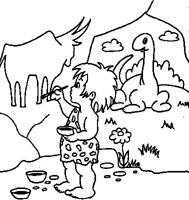 Cave coloring #9, Download drawings