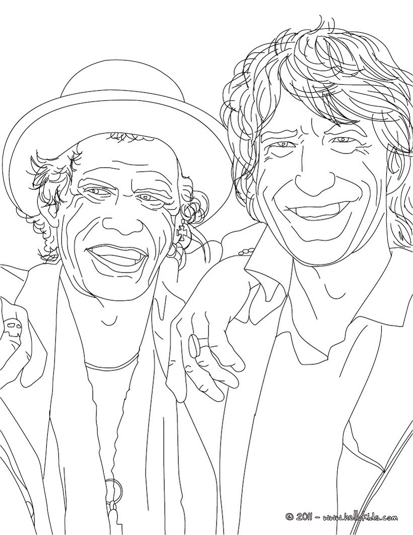 Celebrity coloring #6, Download drawings