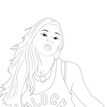 Celebrity coloring #7, Download drawings