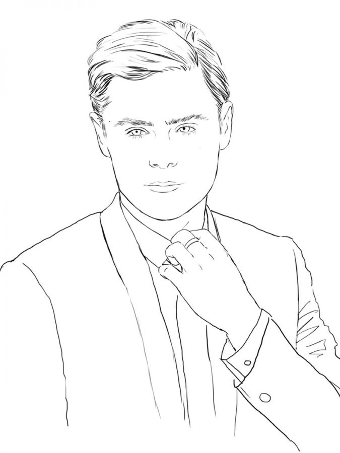 Celebrity coloring #13, Download drawings