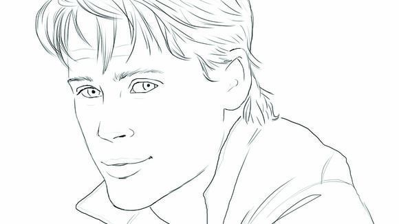 Celebrity coloring #15, Download drawings