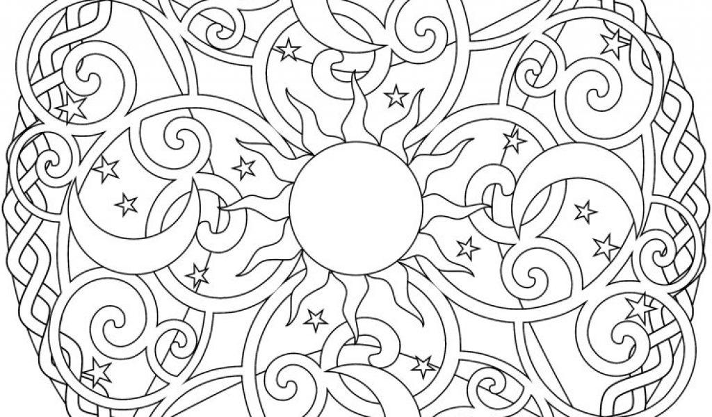 Celestial coloring #11, Download drawings