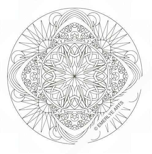 Celestial coloring #6, Download drawings