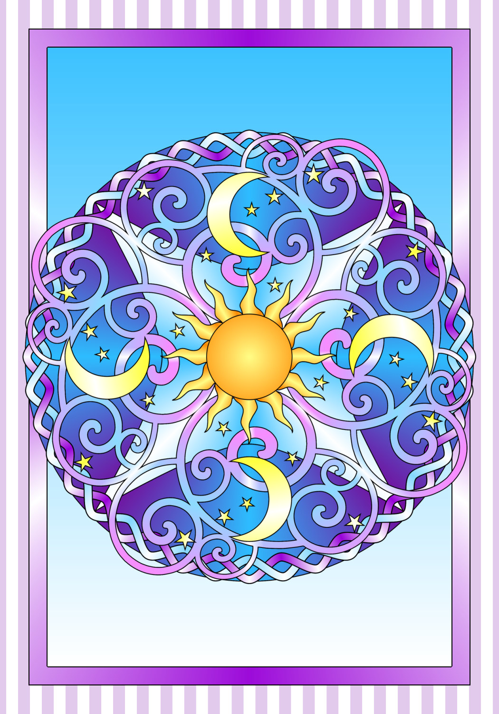 Celestial coloring #18, Download drawings