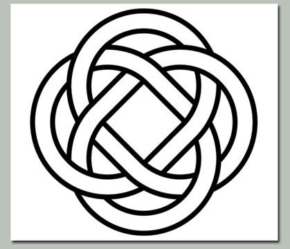 celtic knot svg #697, Download drawings