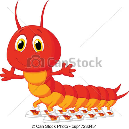 Centipede clipart #20, Download drawings