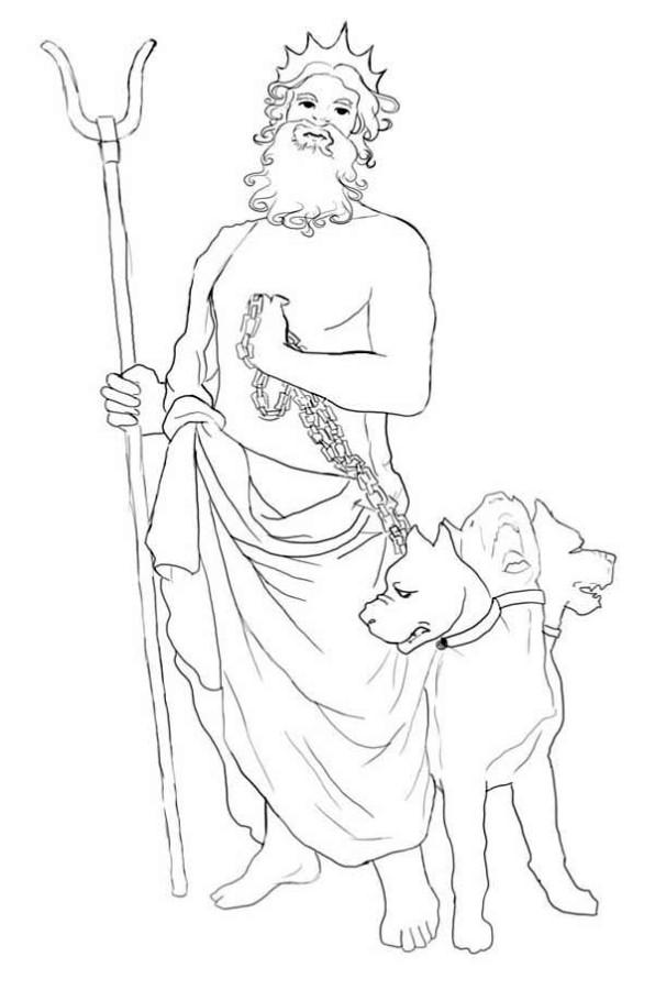 Cerberus coloring #1, Download drawings