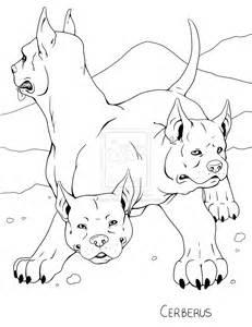 Cerberus coloring #15, Download drawings