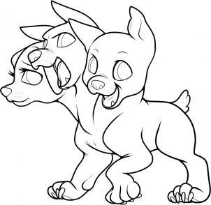 Cerberus coloring #11, Download drawings