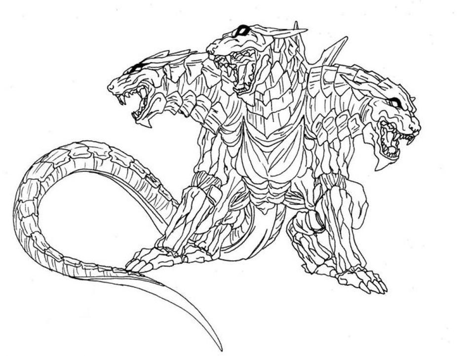 Cerberus coloring #7, Download drawings