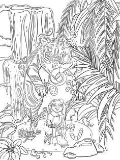 Cetus coloring #2, Download drawings