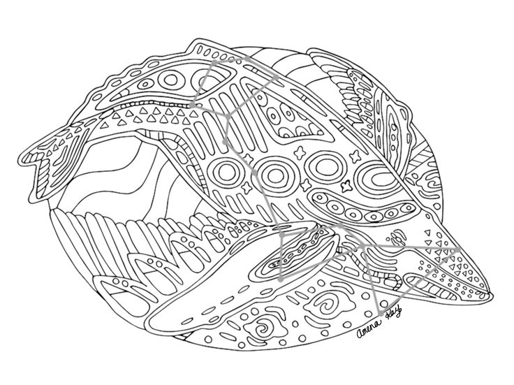 Cetus coloring #20, Download drawings