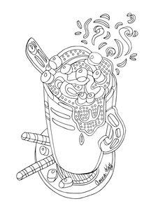 Cetus coloring #8, Download drawings