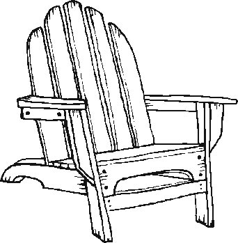 Chair coloring #15, Download drawings