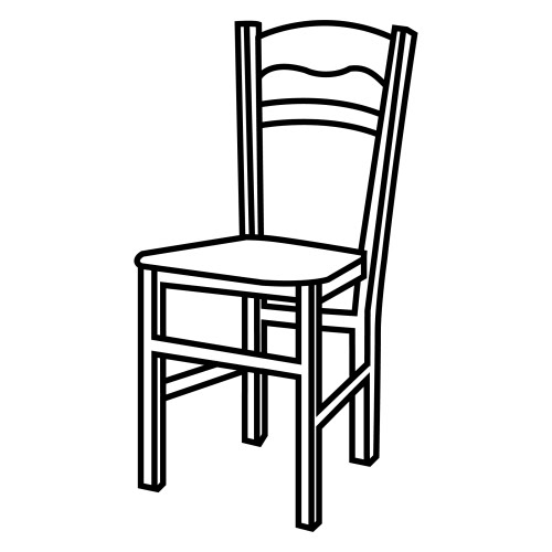 Chair coloring #4, Download drawings