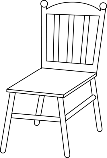 Chair coloring #17, Download drawings