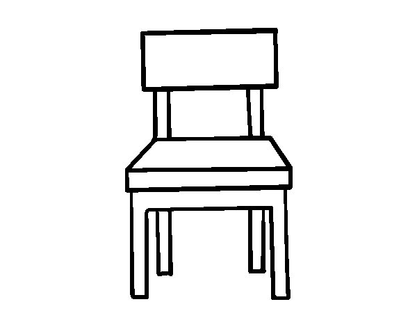Chair coloring #8, Download drawings