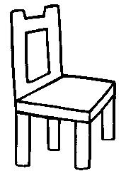 Chair coloring #2, Download drawings
