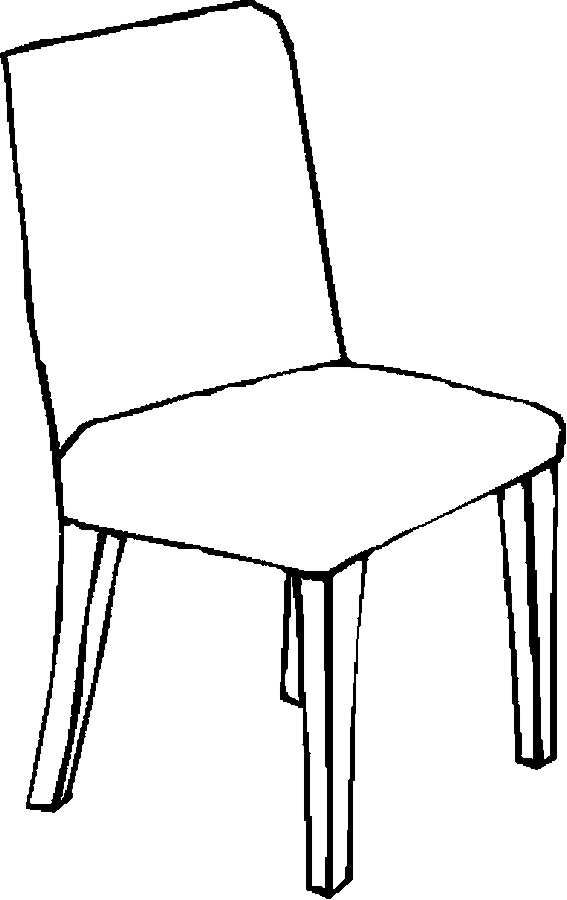 Chair coloring #20, Download drawings