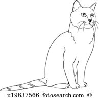 Chartreux clipart #3, Download drawings