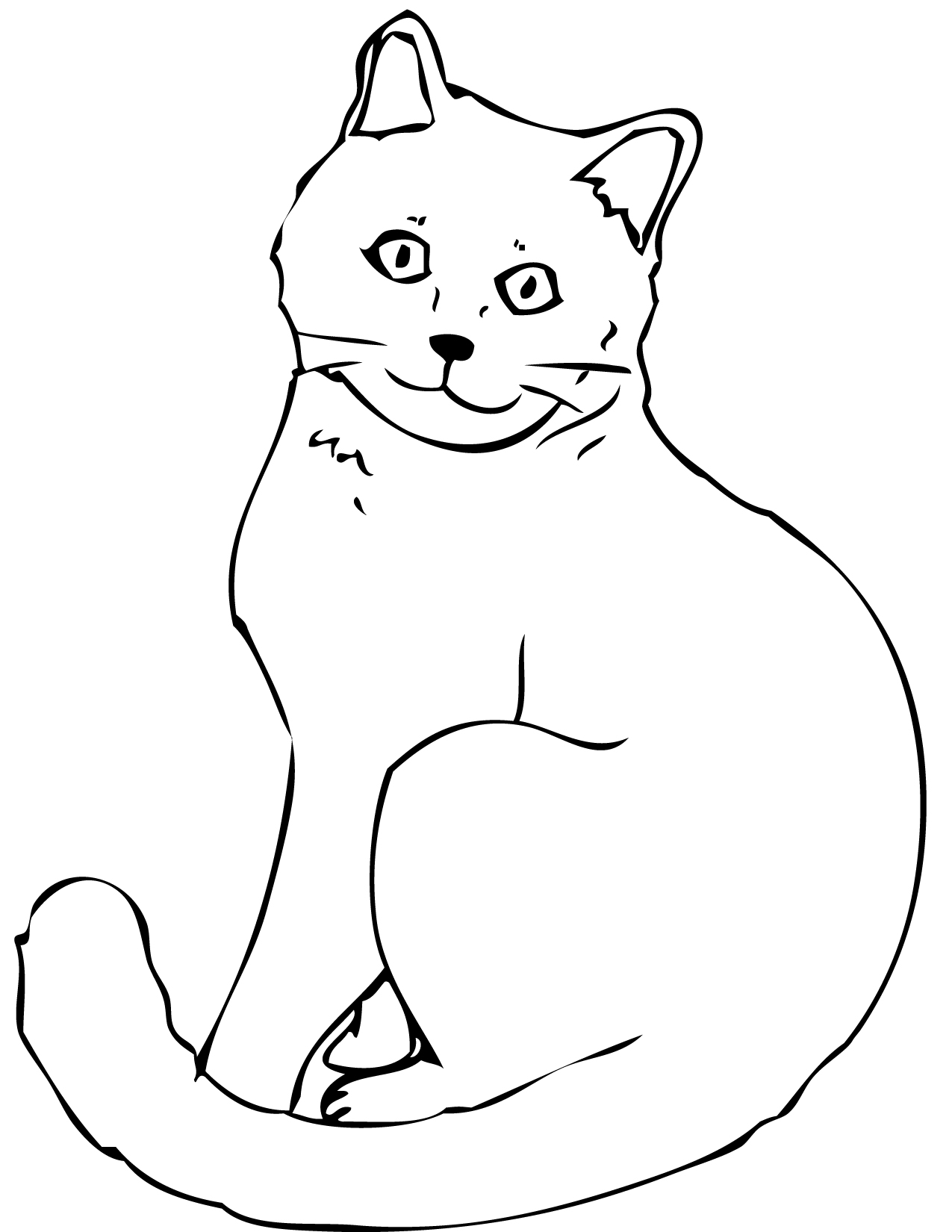 Chartreux coloring #10, Download drawings
