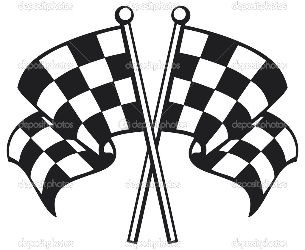 checkerd flag coloring pages - photo#2