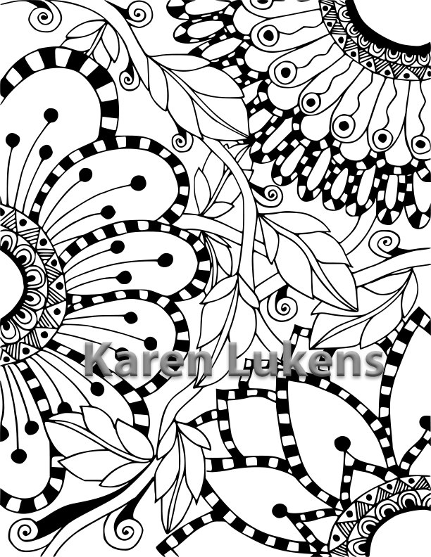 Checkered coloring #2, Download drawings