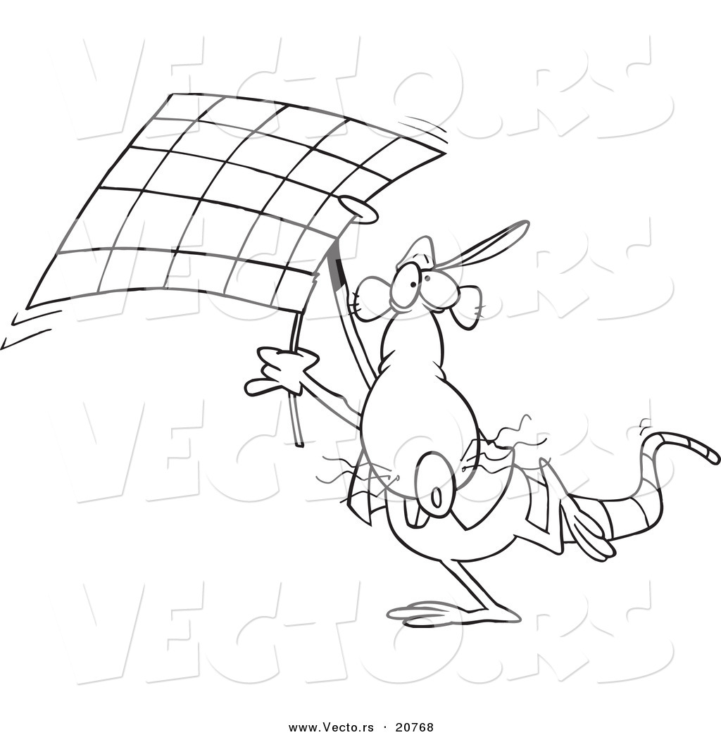 checkered flag coloring pages - photo#5